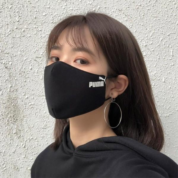 プーマハイブランドマスク 3D立体マスク 学生 大人 フリーサイズ pumaマスク 綿布 抗菌 防臭 消臭 花粉症 UVカット 夏マスク接触冷感  抗ウイルスマスク 洗って 繰り返し使える
