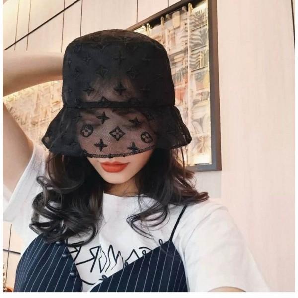 グッチ ヴィトンシャネルバケットハット 薄型 uvカート 帽子 レディース夏日焼け対策キャップ 刺繍ロゴ 女性ファッション コロナ対策グッズ