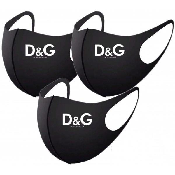 D&G/ディーアンドジーハイブランドマスクパロディメンズ アパレルブランド マスク3d立体マスク 在庫ありメンズ服 のブランド マスク