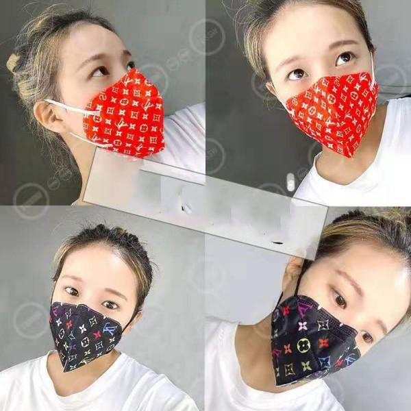 gucci/lv 手作り布マスク burberry洗えるハイブランドマスクパロディマスクブランド 通販即日発送