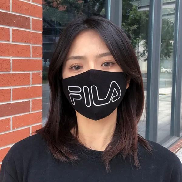 高級ブランドマスクFILA/フィラ 風邪対策 咳 小顔 マスク やわらかい 布 洗える 純綿 埃対策 風を防ぐメンズ レディースおしゃれ マスク 秋冬マスク 寒さ対策 ウィルス飛沫感染対策 口マスク
