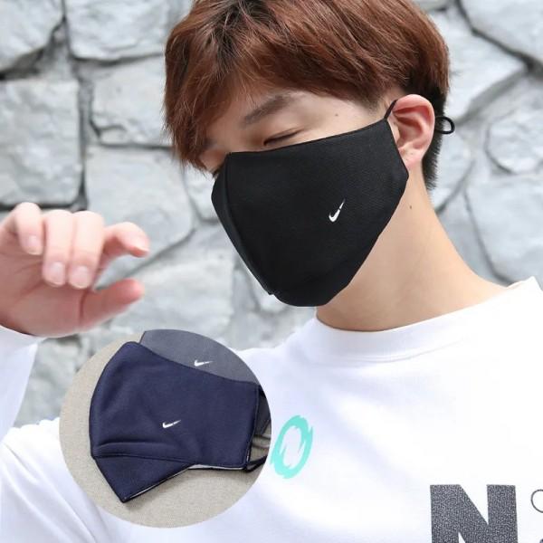 Nikeマスクブランドパロディマスク100%綿 布製 洗えるマスクメンズ レディース おしゃれマスク大人/子供用 サイズ調節可能 スポーツマスクナイキ 呼吸もしやすくウイルス対策 花粉 防塵 寒さ対策