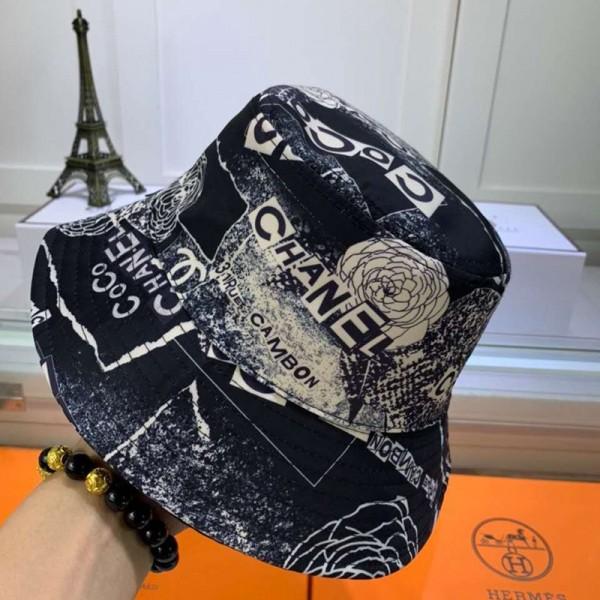 シャネル 魚師の帽子 コピーブランドオシャレ個性バケットハット花粉症防 日焼け止め ハットファッションChanel高品質帽子