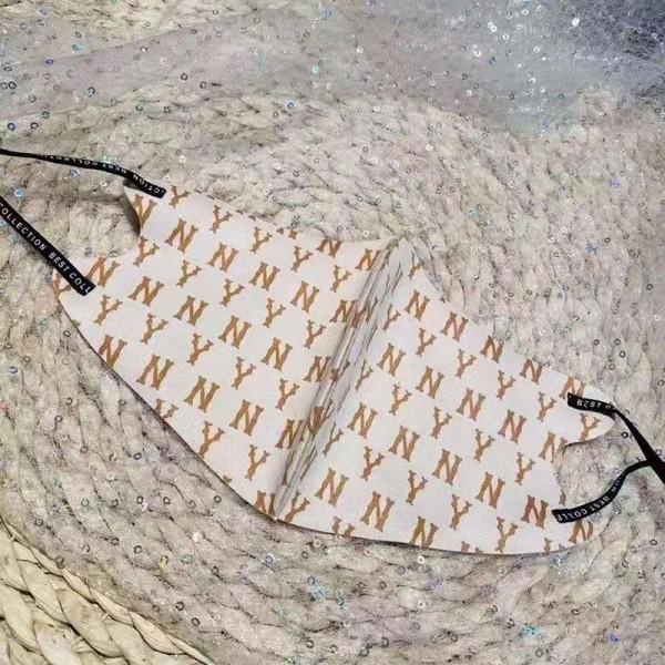 NYブランド秋冬やわらかいマスクおしゃれ立体型マスクゆったり大人用 通勤 通学マスク男女兼用 ウイルス対策 予防マスク繰り返し高級ブランドマスク防護 抗菌 防塵 飛沫