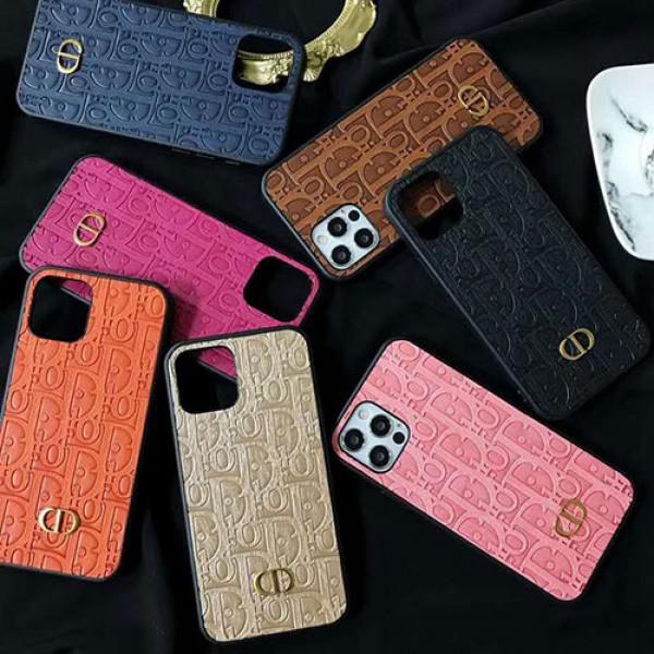DIOR/ディオールシンプル iphone12/12mini/12pro/12pro maxケース ジャケットジャケット型 2020 iphone12ケース 高級 人気ヴィンテージエンボス iphone11/x/xs ケースiphone x/8/7 plusケース大人気