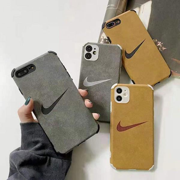 NIKE/ナイキ女性向け  iphone12/12 mini/12 pro/12pro maxケース男女兼用人気ブランドiphone 11/12 pro max/xr/xs maxケースかわいいアイフォンiphone 12/11/xs/x/8/7 plusケース