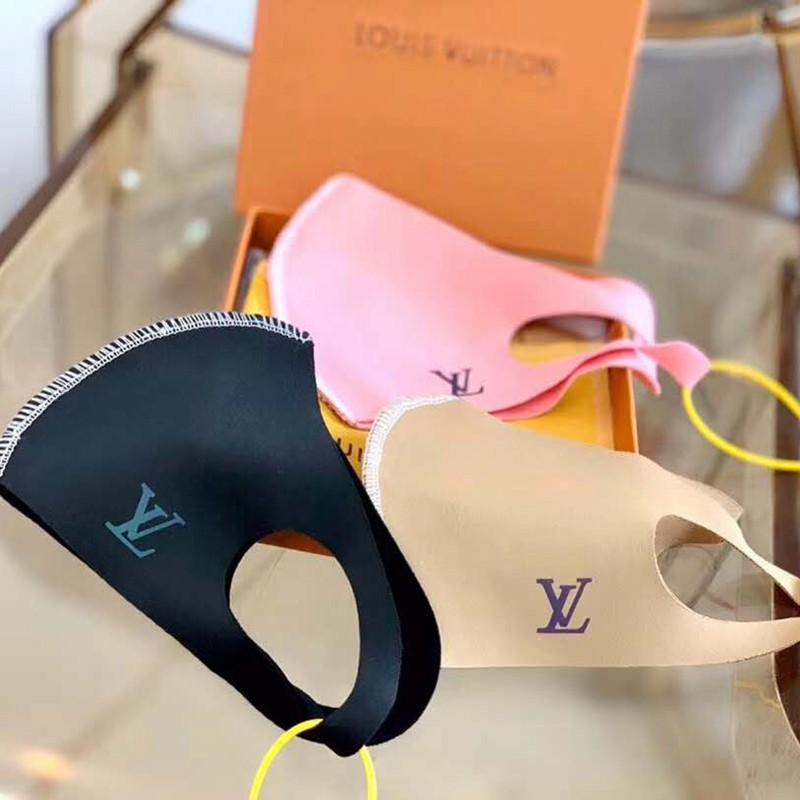 ヴィトン風ブランド夏マスク 在庫あり 洗える 水着マスク Uvマスク