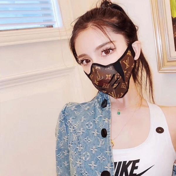 gucci ディズニーコラボマスク ブランド ヴィトンモノグラムダミエパロディ革布製 大人 マスクかっこいい在庫あり激安マスク
