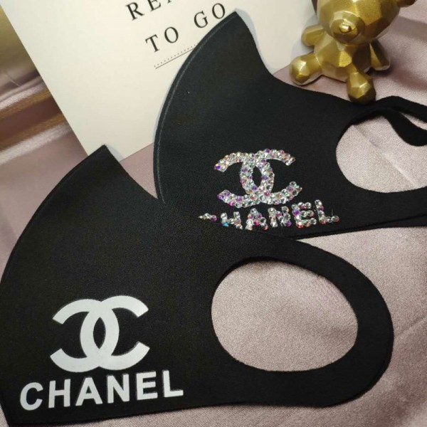 3D立体マスク UVカット シャネル コロナウイルス対策  繰り返し使える chanel mask メンズ レディース 大人用  送料無料  耳に優しい 在庫あり 飛沫感染予防 激安 韓国 耳に優しい