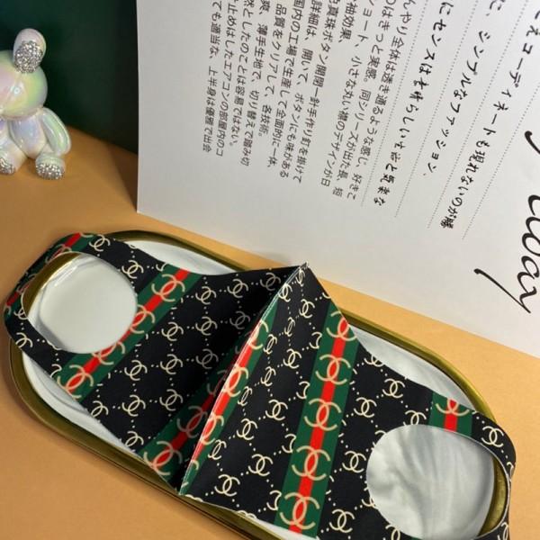 Chanel 夏向け ブランド 薄型 3D立体マスク シャネル布製 おしゃれ布マスク メンズ レディース 大人/子供用 接触冷感 日本製標準  シャネル コロナ対策 パロディー 花粉 三層マスク
