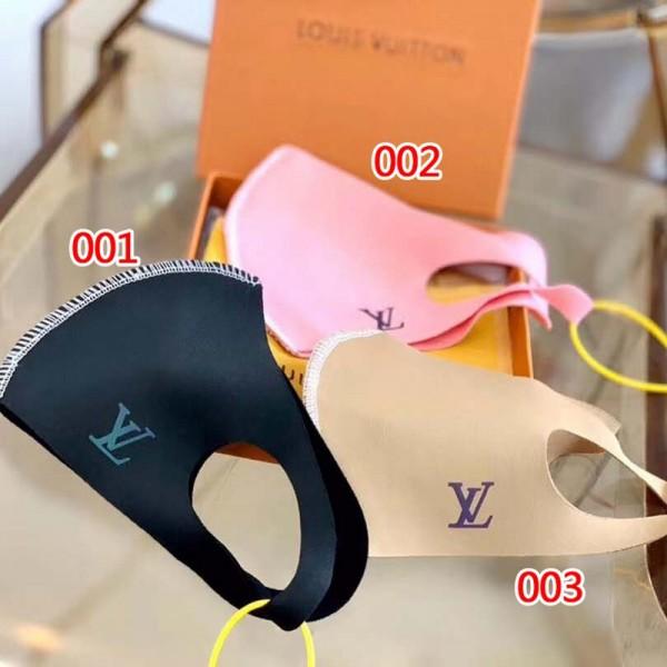 ヴィトン風ブランド夏マスク 在庫あり 洗える 水着マスク uvマスク upf50+ 子供用 大人用 女性 男性  ひんやり 接触冷感 布 耳に優しい