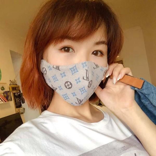 耳が痛くない  手作り 布マスクgucci dior バーバリー LV風夏向け薄型マスク ブラント 洗える布マスク 洗い方夏対策/薄いマスク 洗えるmask やわらかい