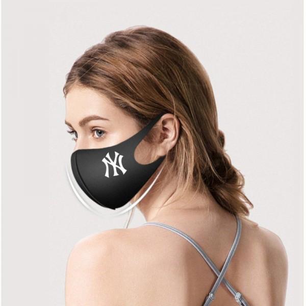 ニューヨークヤンキース/NYYマスク潮牌マスク スポーツマスク  3D立体縫製 男女兼用 フリーサイズ 薄型夏用布マスク 接触冷感 通気性が良い 防塵 花粉症  UVカット 飛沫感染予防  洗える 快適マスク