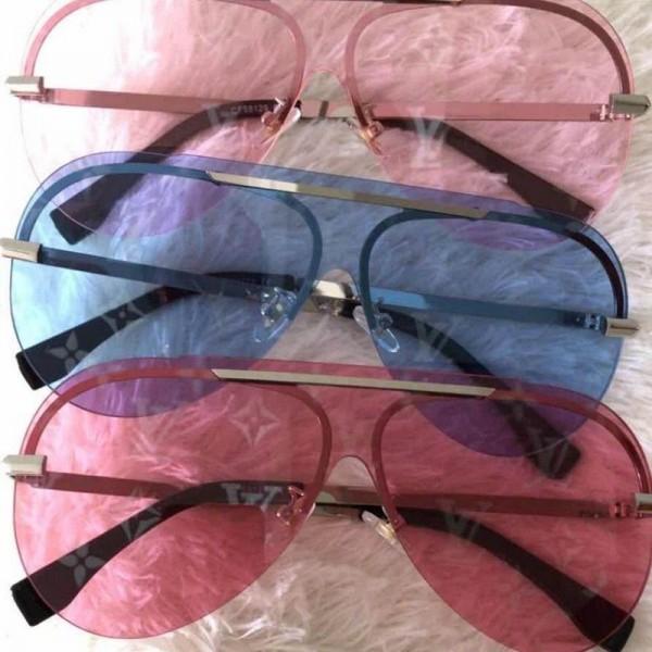ルイヴィトン風 サングラスレディースファッション通販 小顔効果 人気ブランド メンズ 春 夏 流行ドライブ UVカットサングラス韓国ユニセックス 薄い色 おしゃれ かっこいい カラーレンズ