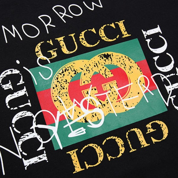 ハイブランド グッチ/Gucci Tシャツ原宿系ファッション Tシャツ  春夏季対応 薄手 単色 半袖 ヒップホップ カジュアル メンズレディースカップルの服トレンド