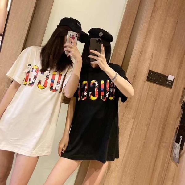 ハイブランド グッチ Tシャツ 流行の夏服 半袖 メンズ レディース Tシャツ クールミッキーマウス 半袖カップル 大きいサイズ カジュアル 修身 ファッション カレッジ风