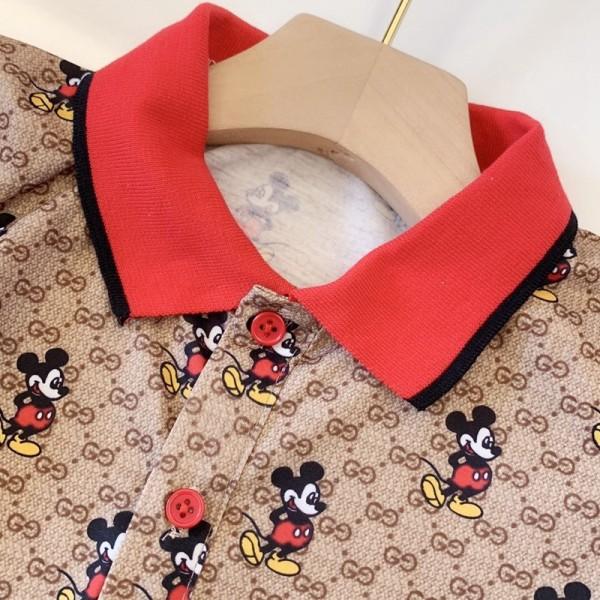Gucci Tシャツ ディズニーミッキーマウス  ブランド風 大人気 送料無料 春夏季対応 ファッション 超可愛い 流行  限定の大人気