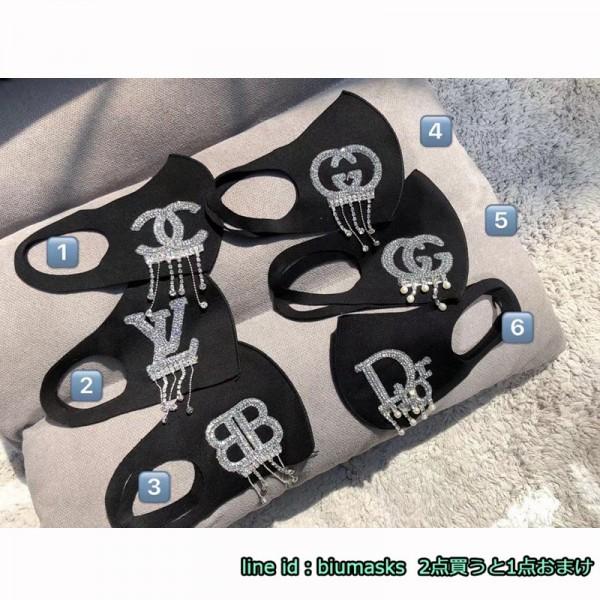 シャネルマスク洗える ポリウレタン バーバリーラインストーンレディースファッション Gucci ルイヴィトン Diorハイブランド ポリウレタン 長時間付けていても耳が痛くない Burberry 繰り返し使える 通販 日本製標準 メンズ レデイーズ 3D立体マスク 送料無料Uvマスク