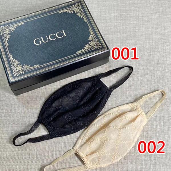 ハイブランドマスク レディース Gucci 耳に優しい 手作り布マスク 繰り返し使える 快適マスク 高級 激安 送料無料 グッチ 薄型 コロナ対策 ストリートファッション 飛沫感染予防