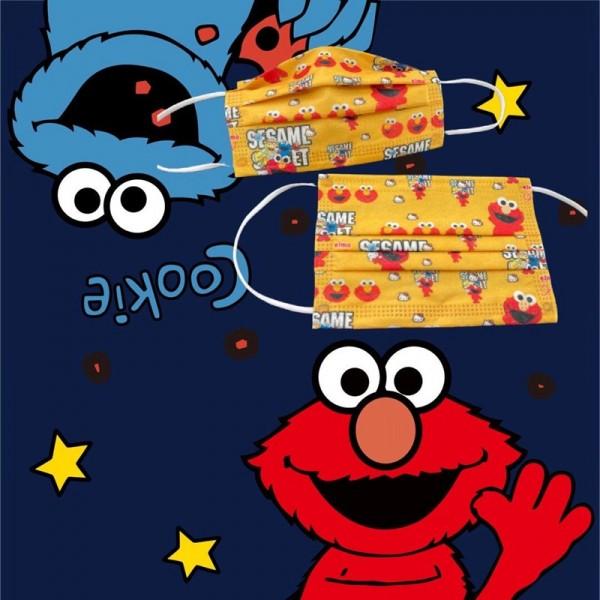 Sesame Street/セサミストリート ブランドパロディマスク 布製 大人 おしゃれmask やわらか 耳が痛くない高級ブランドマスクブランド レディース