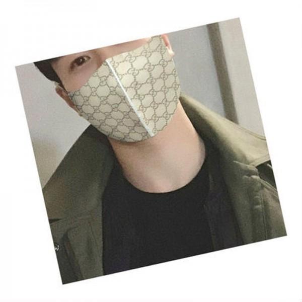 LV GUCCI ハイブランドマスクパロディコロナウィルス対策 激安 黒 洗える グッチ 布マスクおしゃれ フリーサイズ ヴィトン風 マスク メンズ レディース 風を防ぐ 冷え かぜ 口呼吸防止
