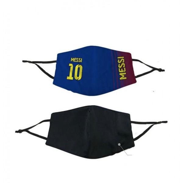 シェイクスピア 手作り 布 マスク 洗えるマスク FCバルセロナ  ACミラン MESSI MASKS コロナ対策 レディース ストリート ファッション ブランド マスクメンズ モノグラム 海外販売