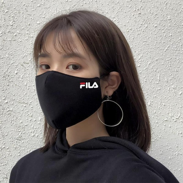 1FILA/フィラ 100%綿 マスク大人用 子供用 男女兼用小顔フェイスマスク おしゃれ繰り返し有名ブランド