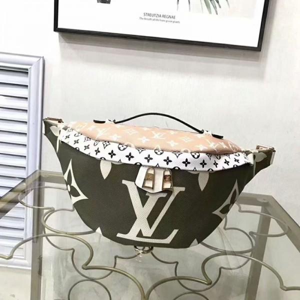 ルイヴィドン ウエストバッグ オシャレモノグラム 混色 高品質 サイズ調節可能