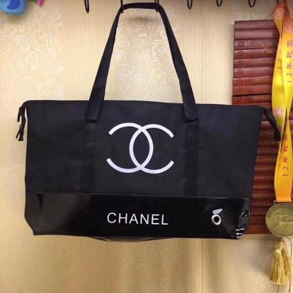 シャネル ショピングバッグ お洒落 小香風 大容量 ファッション人気 ブランド CHANEL バッグ メンズ レディースドードバッグ ショルダーバッグ 男女兼用