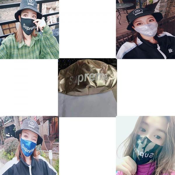 シュプリームブランド繰り返しマスク高品質レディースメンズ洗えるマスク飛沫 ほこり 花粉 風邪予防 コロナ対策マスク在庫あり
