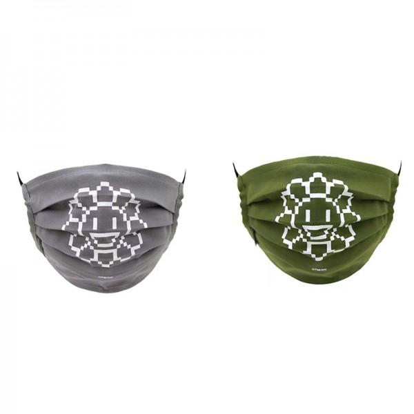 村上隆ブランド不織布マスクファッションシンプル使い捨てマスク高品質やわらか3層フィルターフェイスマスク防塵コロナ対策マスク大人
