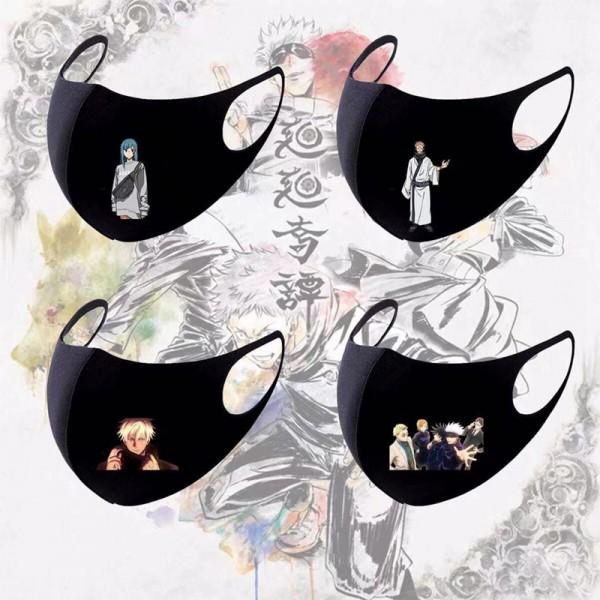 ブランドアニメ洗えるマスクかわいいキャラクターマスク高品質コットン快適 繰り返しマスク防風 花粉症 飛沫 コロナ対策マスク