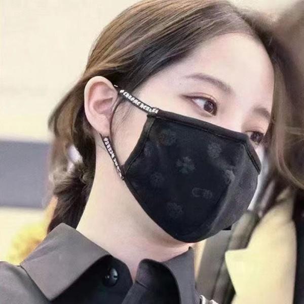 クロムハーツブランド繰り返しマスクファッション潮流 肌に優しい布マスク快適 通気性がよい洗えるマスク男女兼用 人気