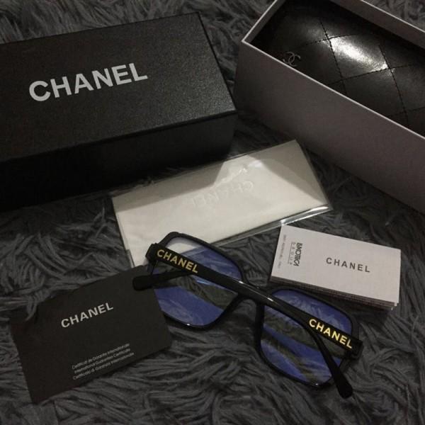 シャネルブランドブルーライト対策グラスレディースおしゃれ伊達眼鏡メンズとうめいUVカット素通しファッション防護眼鏡