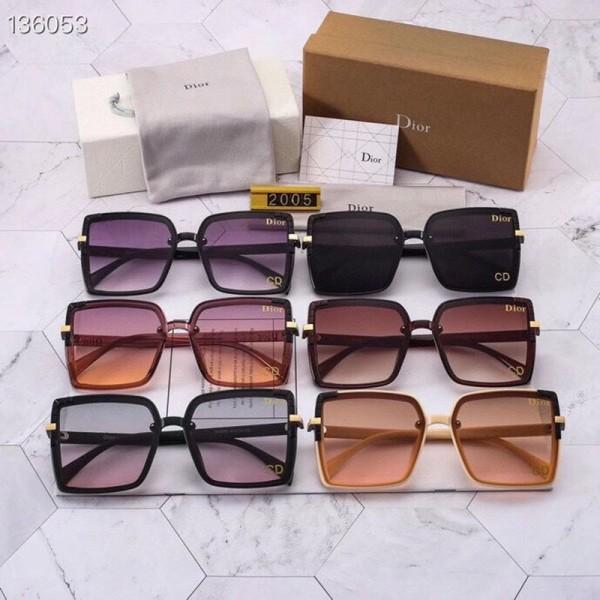 ディオールブランドファッションサングラスレディース2021新しい潮流ブロックサングラスUVカット個性 運転眼鏡