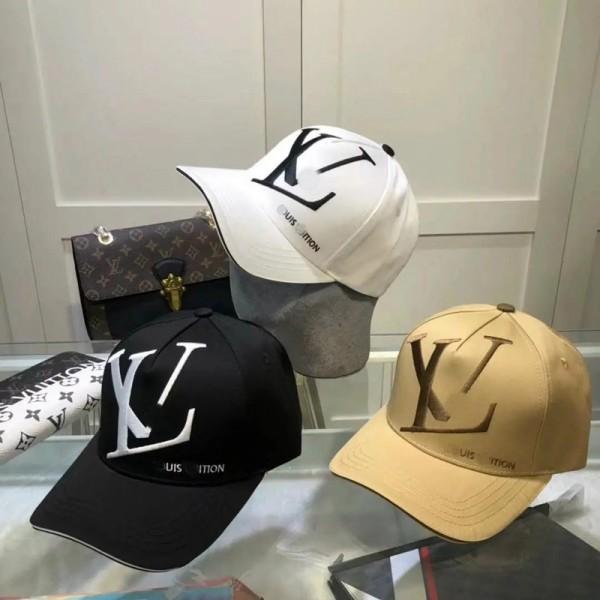 ルイヴィトンブランドハットファッションカジュアル 野球帽グッチメンズ潮流個性キャップ LV定番レディースシンプル日焼け止めハット