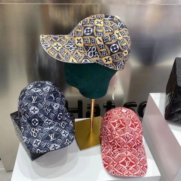 ルイヴィトンブランド野球帽ファッション男女兼用ハンチング帽日焼け止め帽子カップルシンプル春夏ハット
