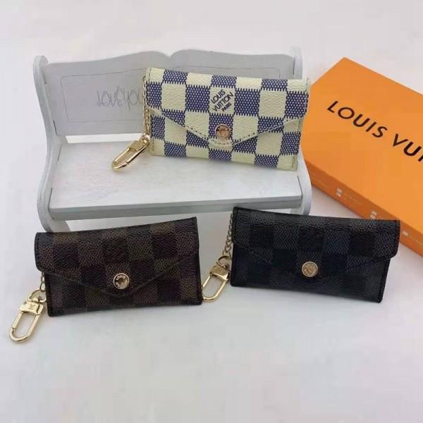 ルイヴィトンブランドファッションカード収納ケースLV定番プリント小銭カードバッグ実用クレジットカードや電車カード入れケーススキミング防止