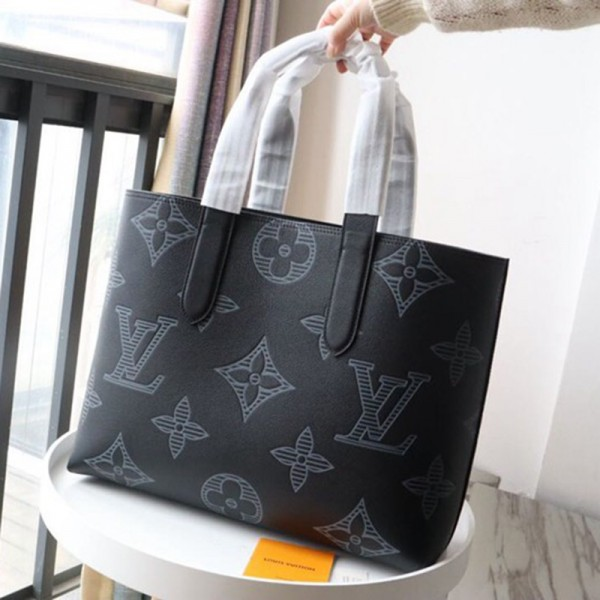ルイヴィトンブランドハンドバッグおしゃれ高品質なレザー手提げバッグ大人っぽい小さいサイズバッグ付きセット