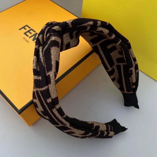 FENDI高品質コピーブランドヘアアクセサリー韓国風ファッションヘアバンド4つスタイルおしゃれカチューシャ芸能人愛用ヘアバンド大人気