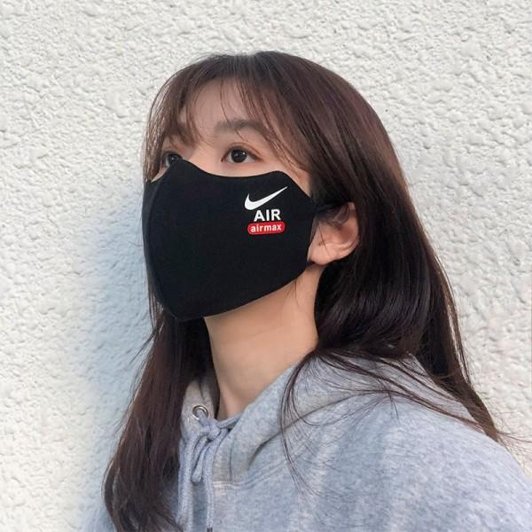 ハイブランドナイキ布マスク 洗える コットンフィット 布マスク ウイルス対策 花粉症予防 綿マスク男女兼用 大人用繰り返し使えるマスク