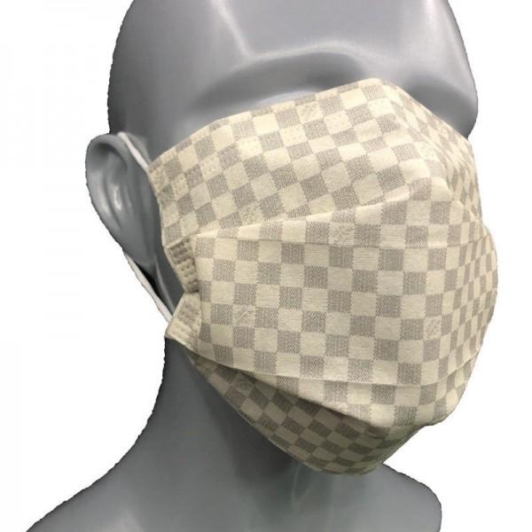 ルイヴィトンブランド 不織布マスク10枚入り使い捨てマスク 飛沫対策 花粉予防ますくプリーツ式レギュラーサイズマスク清潔 衛生 PM2.5 対策不織布マスク
