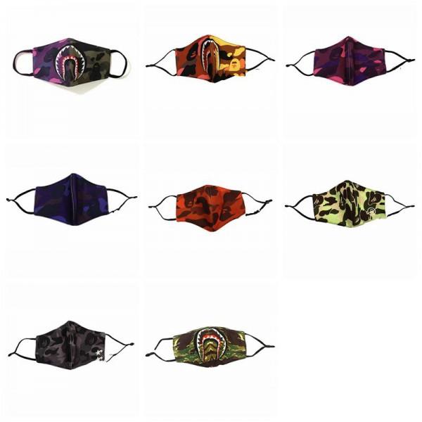 高級ブランド布マスク暖かい個性的なサメの口のマスク秋冬適用ウイルス対策 防風 防寒 防塵 洗えるマスク男女兼用 潮流maskブランド大人サイズ