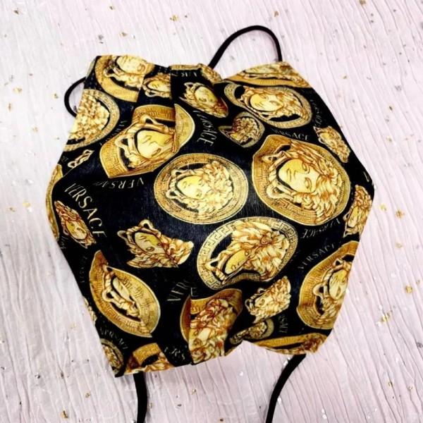 Versace/ヴェルサーチ不織布マスクブランド10枚入り使い捨てマスクファッション潮流UVカット防塵 飛沫ウイルス対策マスク快適アイテム