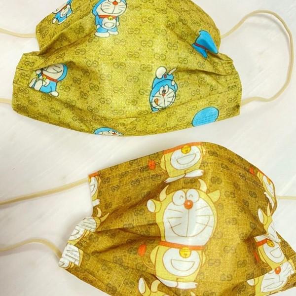 Gucci夏新品かわいいポコニャン絵柄マスクブランドグッチ10枚入り高品質な使い捨てマスク在庫ありおしゃれ不織布マスク