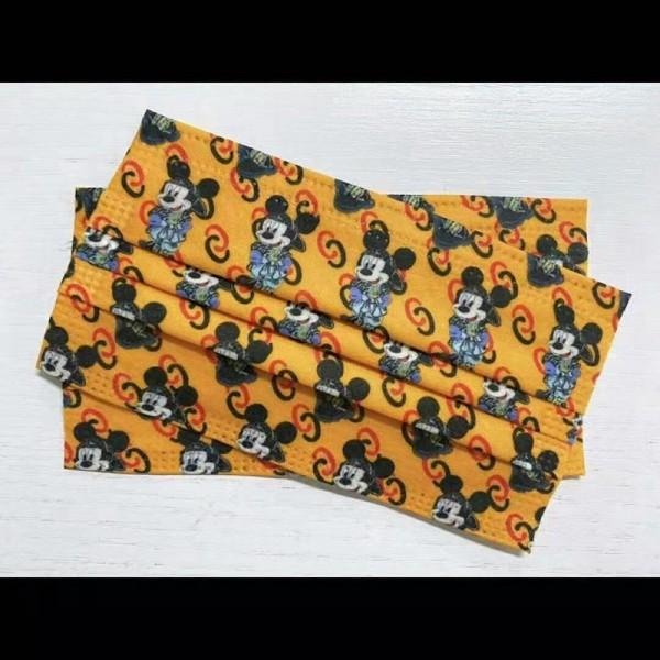 ハイブランドかわいい漫画の親子型の使い捨てマスクディズニーミッキー不織布マスク50枚入り大人/子供サイズ保護マスク