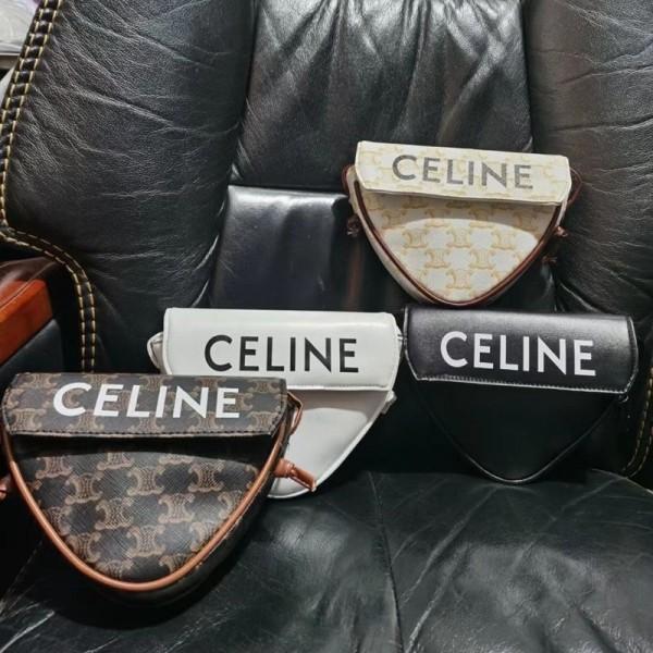 女性のバッグ2021セリーヌかわいい財布ブランドおしゃれ三角形 斜め掛けカバンCeline スター同型 高級感ミニショルダーバッグ