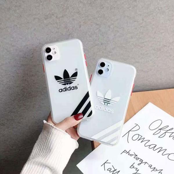 Adidas/アディダス 男女兼用人気ブランドiphone12/12mini/12pro/12pro maxケースファッション セレブ愛用 iphone12 mini/11pro maxケース 激安iphone xr/xs max/11proケースブランド