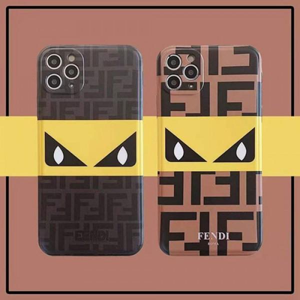 FENDI/フェンディ ブランド iphone12/12 mini/12 pro/12pro maxケース かわいいペアお揃い アイフォン12 pro/12 pro maxケース iphone 11/xs/x/8/7ケースiphone 11/x/8/7スマホケース ブランド LINEで簡単にご注文可