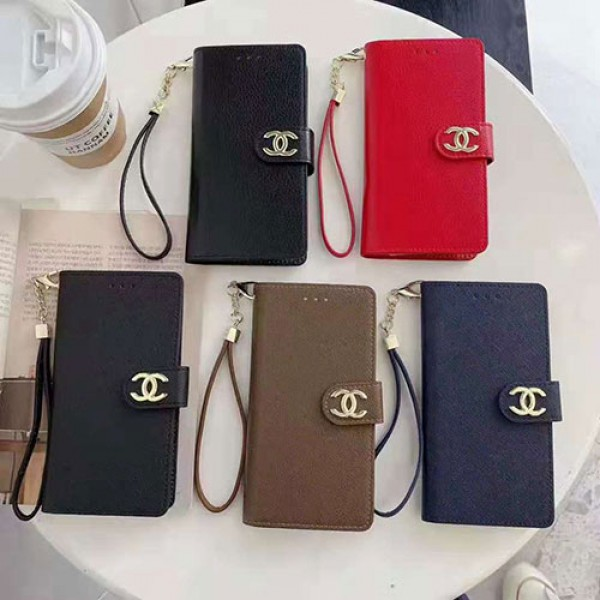 Chanelブランド iphone13/13mini/13pro/13 pro maxケースファッション手帳型シャネル iphone12/12 pro max/12 proケース男女兼用人気ブランドGalaxy s20+/s21/s21+/s21ultraケース
